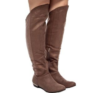 Calling it Spring Brown Gervaise Riding Boot 8